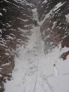 Rock Climbing Photo: very thin avocado gully nov 09