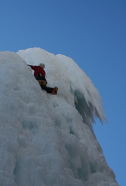 Rock Climbing Photo: Just an easy ice climb