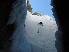 Rock Climbing Photo: another easy ice climb