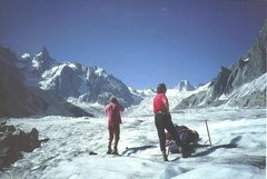 Rock Climbing Photo: On the upper part of the Mer de Glace. .Photo P.Ro...