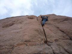 Rock Climbing Photo: Mark taking a stroll.