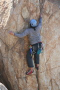 Rock Climbing Photo: Albert on Direct Northwest Face (aka Left Half Dom...
