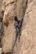 Rock Climbing Photo: Right V Crack is still a good place to practice cl...