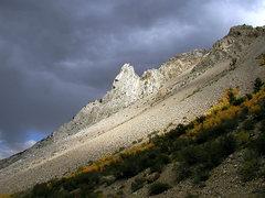 Rock Climbing Photo: Cardinal Pinnacle. Photo by Blitzo.