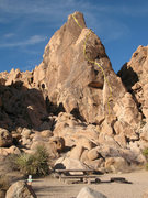 Rock Climbing Photo: This is the route Tranquility follows if you read ...