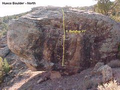 Rock Climbing Photo: Hueco Boulder North side.