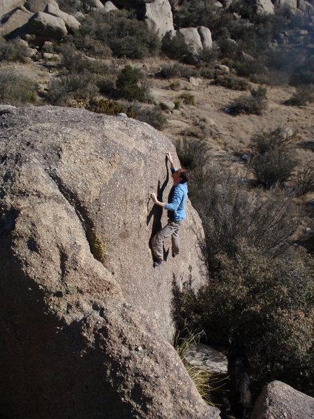 Chris E. near the top of the slab.