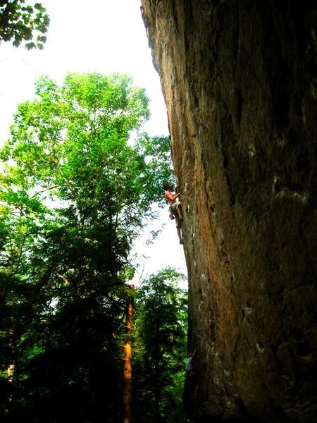 Rock Climbing Photo: Great Profile Picture of the route