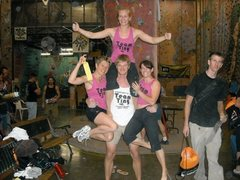 Rock Climbing Photo: Team Tiny at the 2009 Thrash & Dangle Fest at the ...