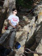 Rock Climbing Photo: When staring upwards while belay starts hurting......