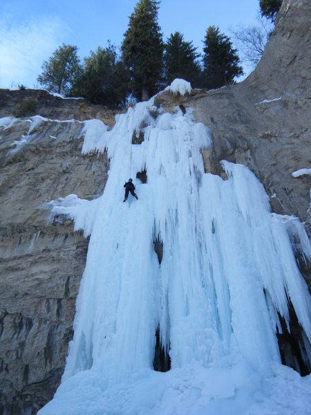 Climber: Lynda Christensen, Montrose CO.