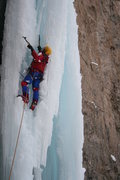 Rock Climbing Photo: We did find a 5+ lead. Climber: Douglas Lossner. 1...
