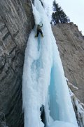 Rock Climbing Photo: Betty Thorson asking herself: how many overhangs d...
