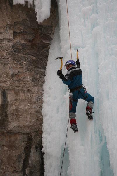 Rock Climbing Photo: Randy Harris, Golden CO., Posing for a photo for s...