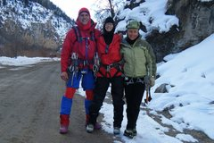 Rock Climbing Photo: Half the crew. Douglas Lossner, Lynda Christensen,...