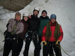 Rock Climbing Photo: THE CREW. Betty Thorson,Fruita. Dawn Wieker, Brett...