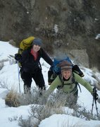 Rock Climbing Photo: Dawn Wieker and Betty Thorson. Bad Ass mountain wo...