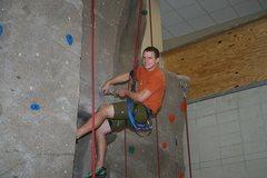 Rock Climbing Photo: routesetting