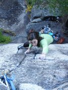 Rock Climbing Photo: Almost there. She's going to be kicking all our bu...