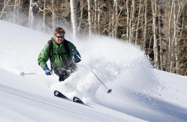 BC skiing Silverfork, BCC, UT