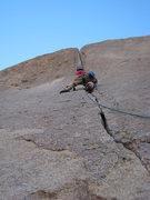 Rock Climbing Photo: Court on the beautiful BoF line.  November 2009