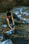 Rock Climbing Photo: Fuzzy Undercling at the Red River Gorge.