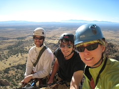 Rock Climbing Photo: New Year's gift: beautiful bluebird day delivers D...