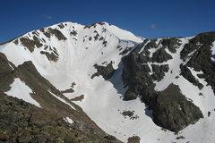 Rock Climbing Photo: East side of Jasper Peak.