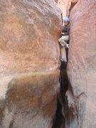 Rock Climbing Photo: Down...