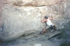 Rock Climbing Photo: Me on Kirkatron, 1998