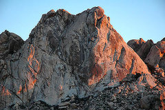 Rock Climbing Photo: Granite Mountains. Photo by Blitzo.