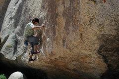 "Rock Climbing Photo: Renan Ozturk on ""The Highball"" aka &quot..."