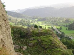 Rock Climbing Photo: View from the climb Via Media on the South Crag.Lo...