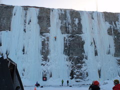 Rock Climbing Photo: Ice Pit Demo Days jan 2010