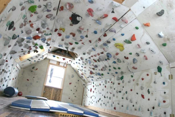 climbing cave