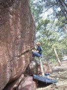 Rock Climbing Photo: Invertebrate Learning (V5).