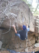 Rock Climbing Photo: Simply Skimpy (V8).