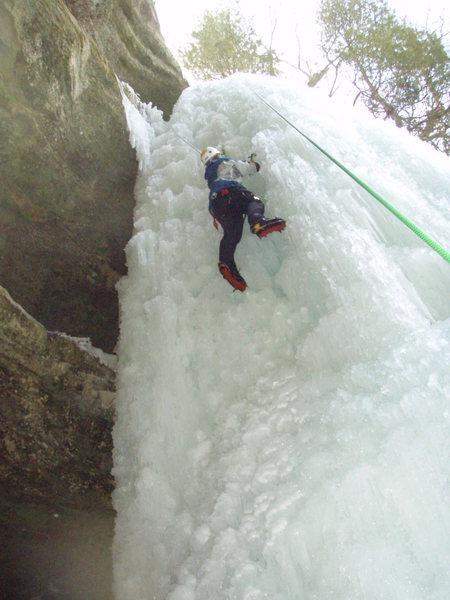 Climbing up wildcat 2009