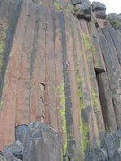 Rock Climbing Photo: Gateway is the obvious splitter, two lines right o...