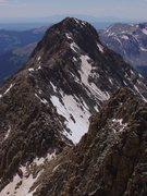 Rock Climbing Photo: El Diente to Mt. Wilson traverse