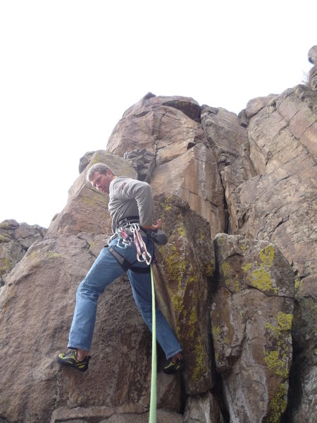 Rock Climbing Photo: The first moves.