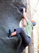Rock Climbing Photo: Aaron Parlier on Thews.