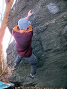 Rock Climbing Photo: Eaten Alive (V7)