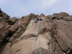 Rock Climbing Photo: Thin (not me, the holds...).