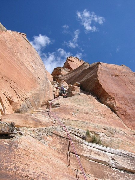 Jeff on 1st pitch of &quot;Doghouse.&quot;<br> <br> by Bob Kerry