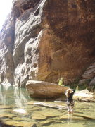 Rock Climbing Photo: Checkin' it out!
