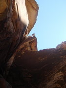 Rock Climbing Photo: Great climb-GF route.