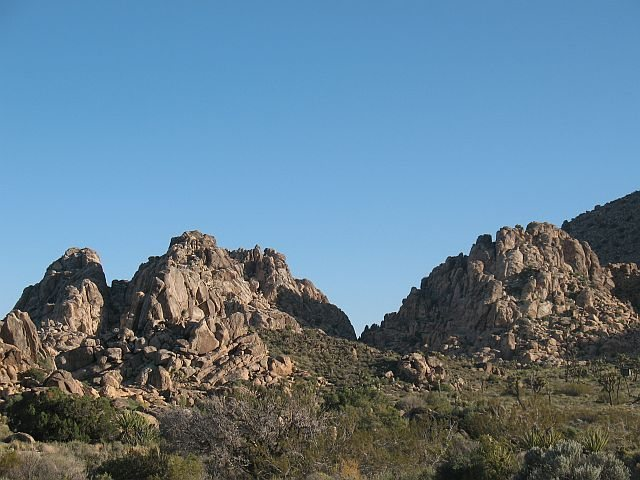 Formations near Sheep Pass Campground, Joshua Tree NP