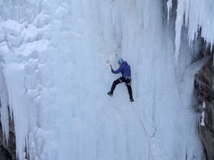 Rock Climbing Photo: Route Canal in the Ouray Ice Park