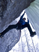 Rock Climbing Photo: Crossing over